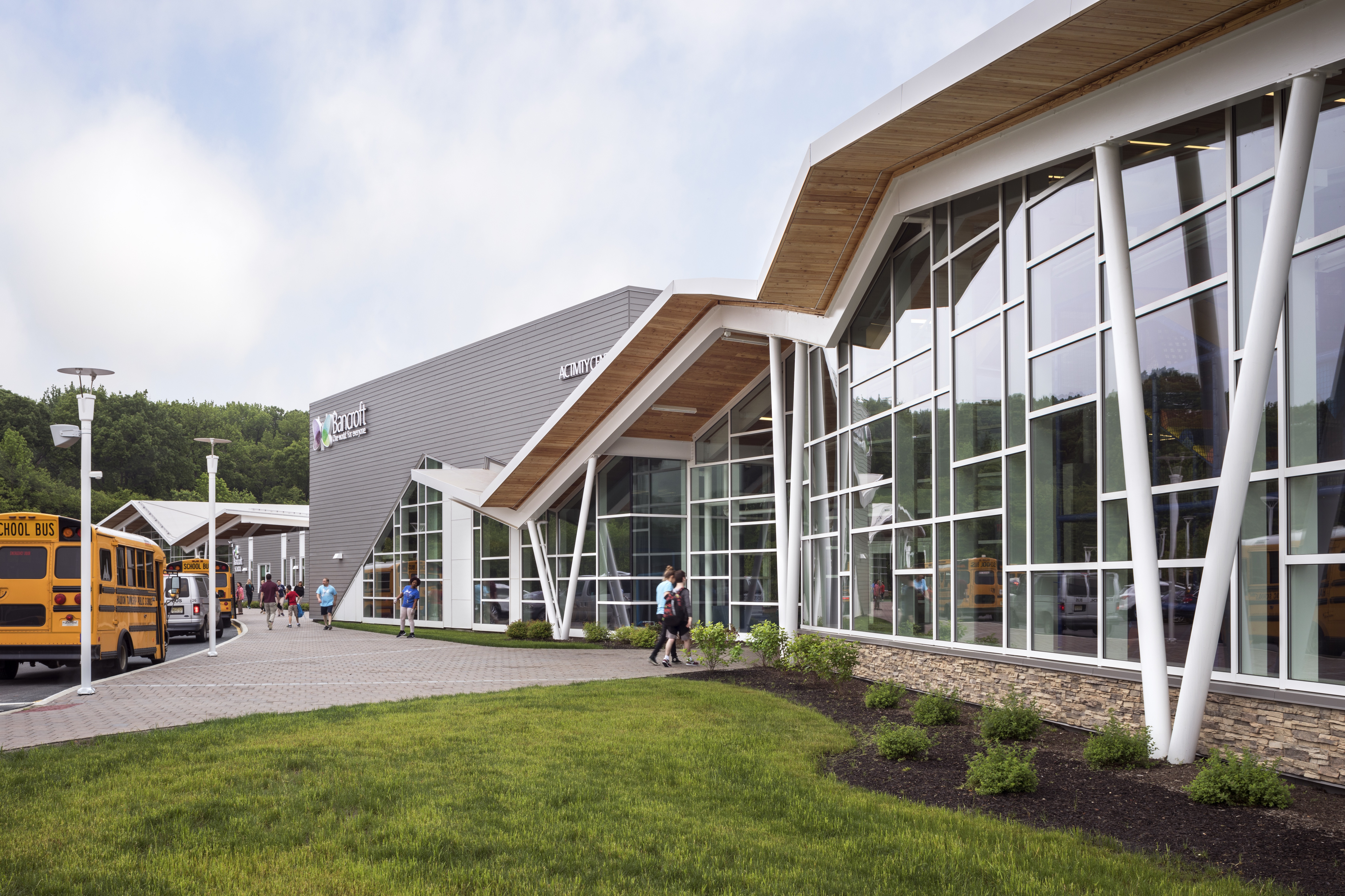 Bancroft Mount Laurel Campus use biophilic design