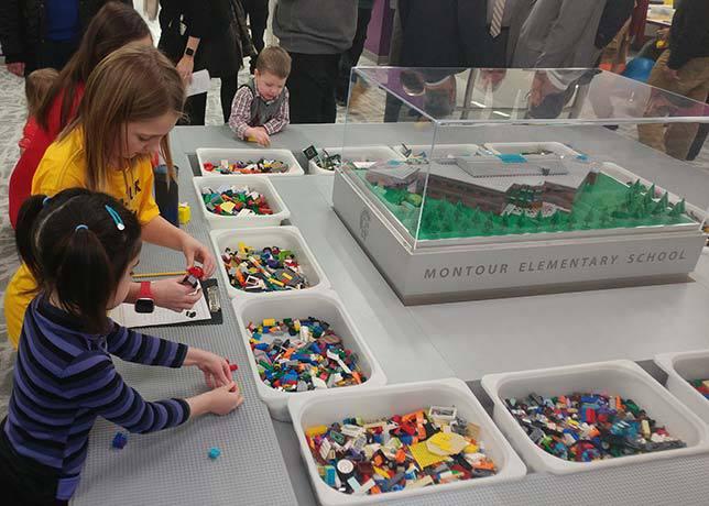 Montour School District Lego Makerspace