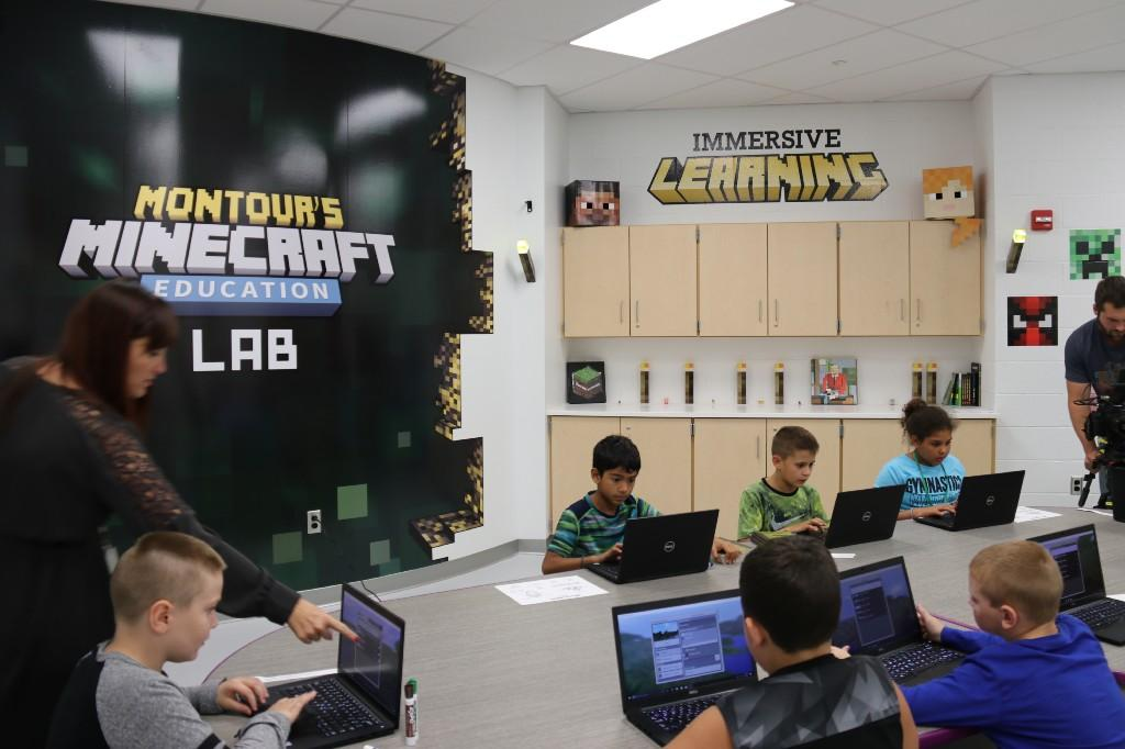 Montour School District Minecraft Education Lab