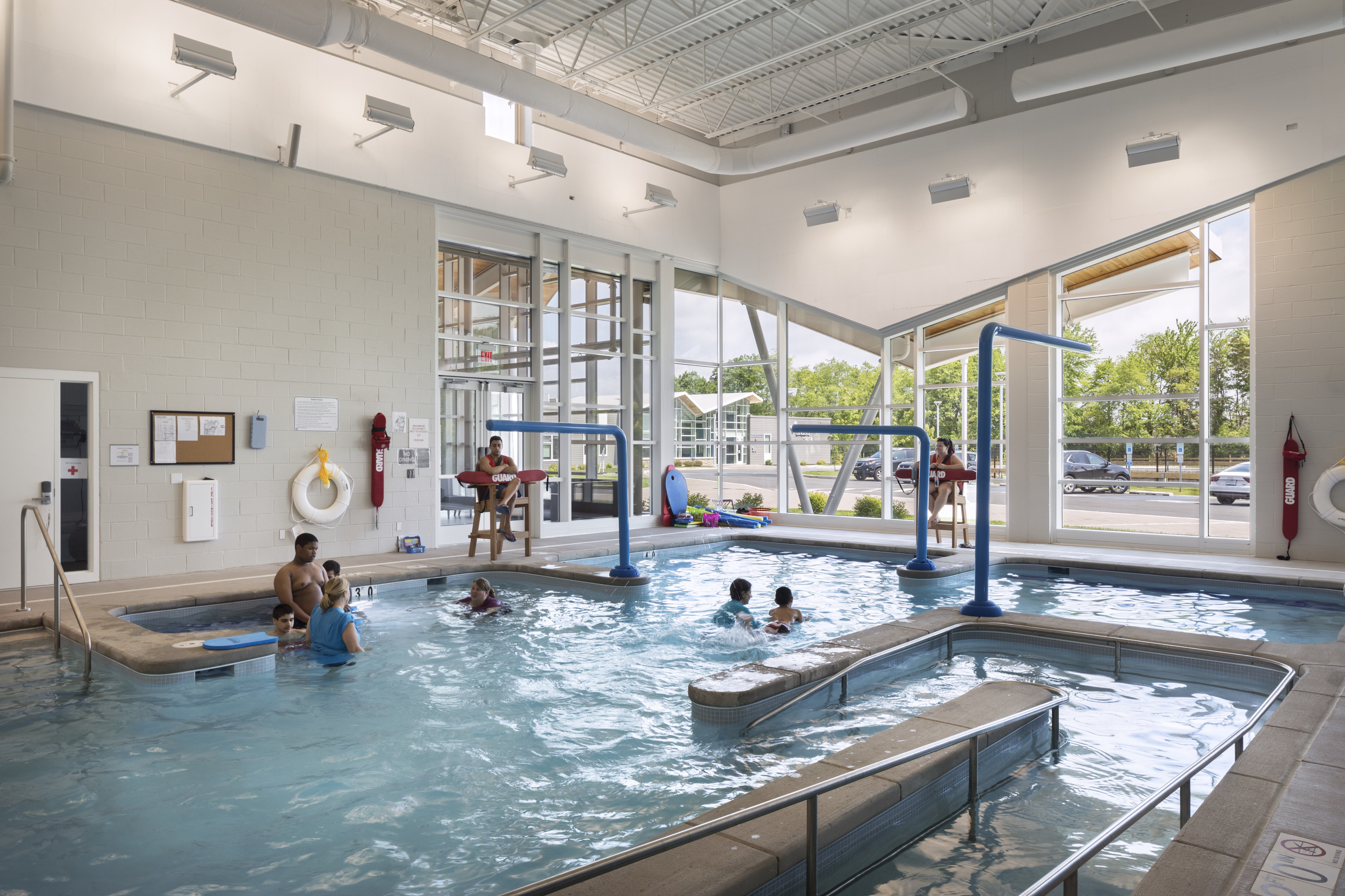 Water is popular design element on Bancroft's campus