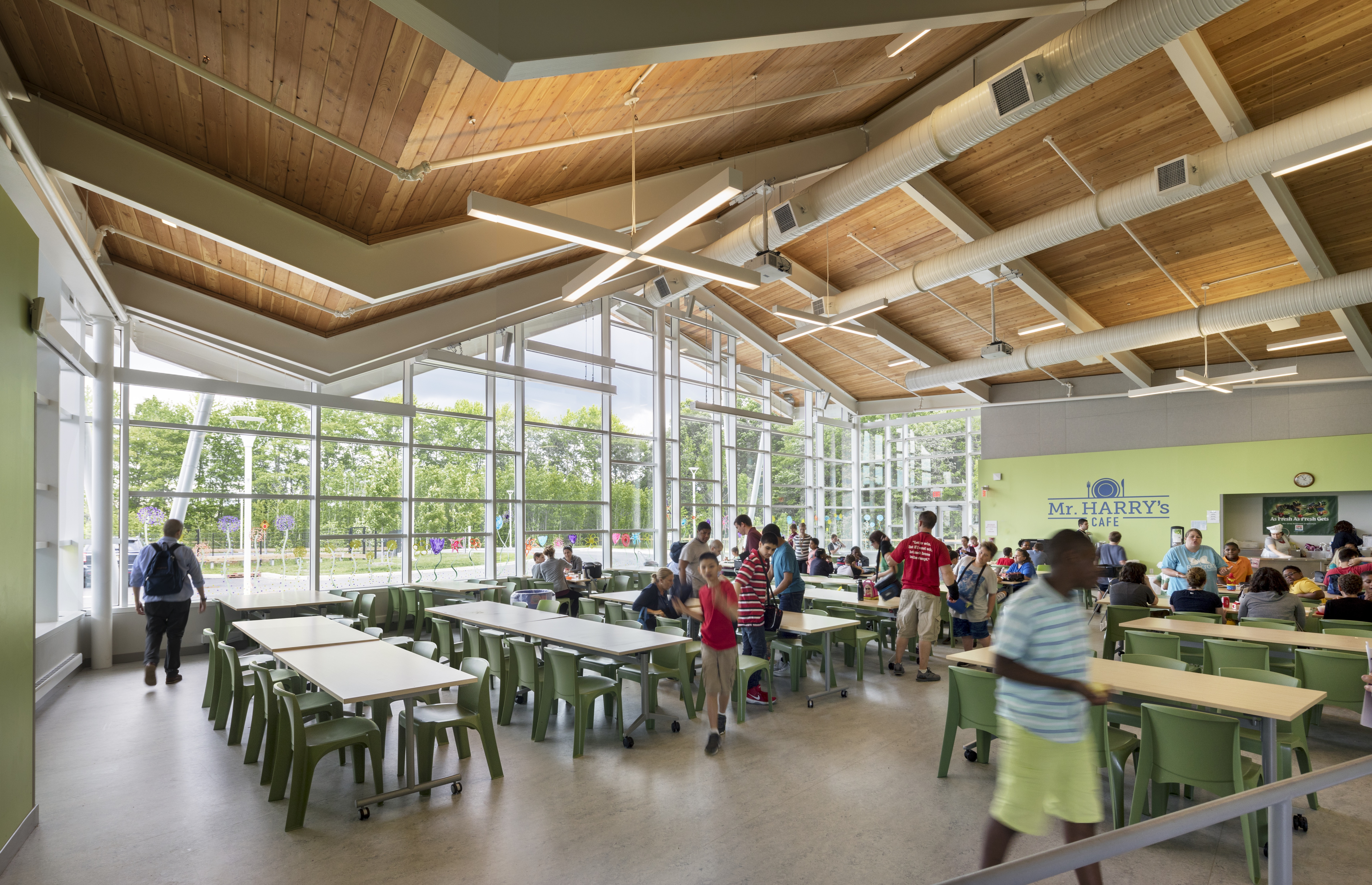 How Biophilic Design Benefits Students with Autism